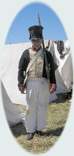 At the 2005 Waterloo reenactment