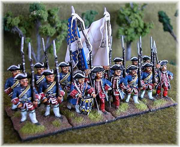 Front Rank figures