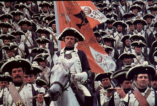 Prussians in the film 'Barry Lyndon'