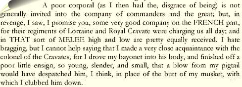 Excerpt from novel 'Barry Lyndon'