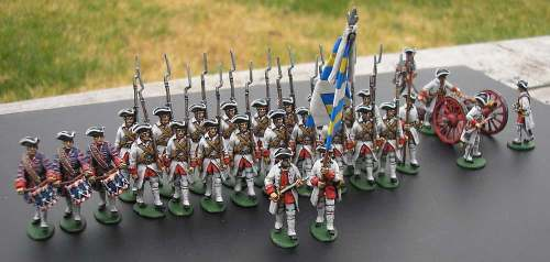 Barry Lyndon French Regiment with Minden Miniatures