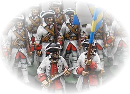 Barry Lyndon French Regiment