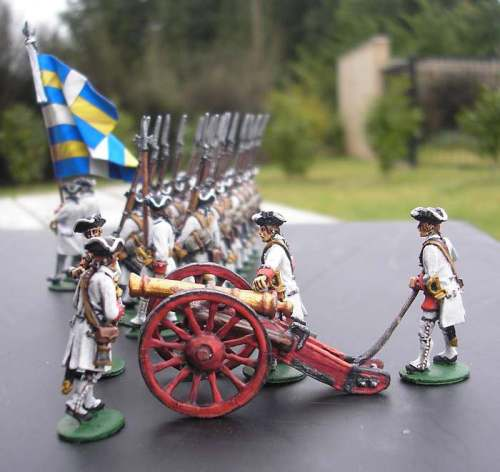 Barry Lyndon French Regiment battalion gun