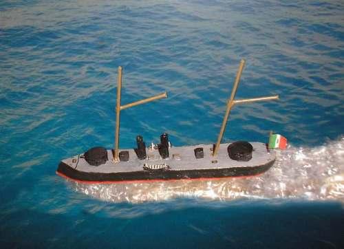 Italian ship 'Affondatore'