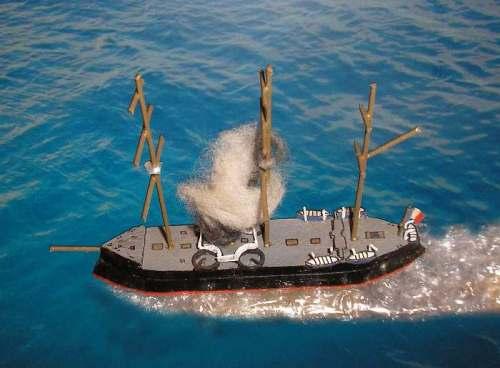 French ship 'Ocean'