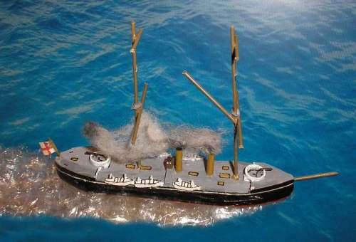 HMS 'Temeraire'