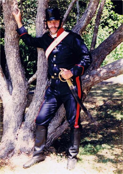 Me as a trooper of the New South Wales Mounted Police (c1840).