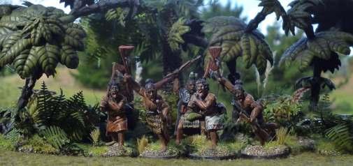 Maori war-party