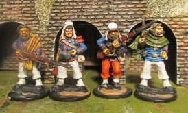 Four new legionaires join my small force.