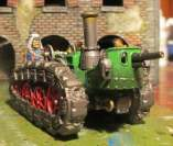 The infernal gun tractor.