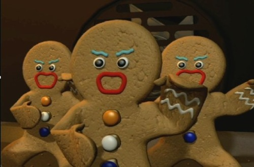 Gingerbread haka ...