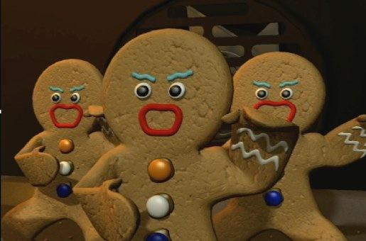 Gingerbread haka ...