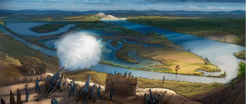 river battle