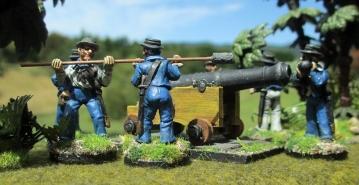 NZ Wars naval gun