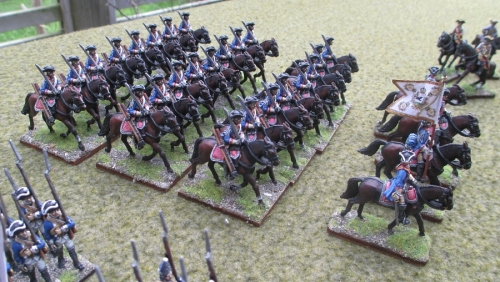Prussian dragoons