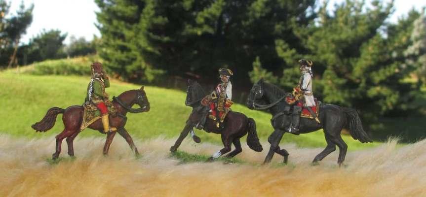 Austrian generals by Minden Miniatures