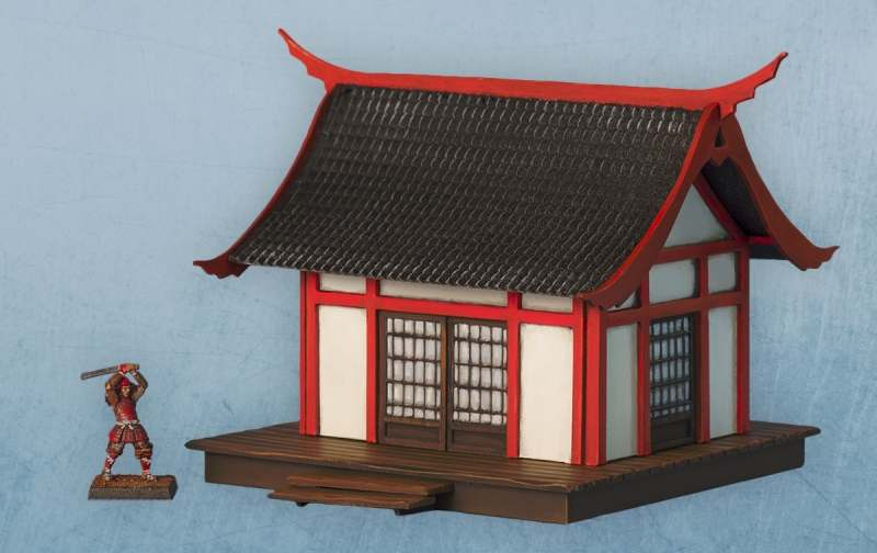 Fukei Buildings And Scenery For My Samurai Project DRESSING THE