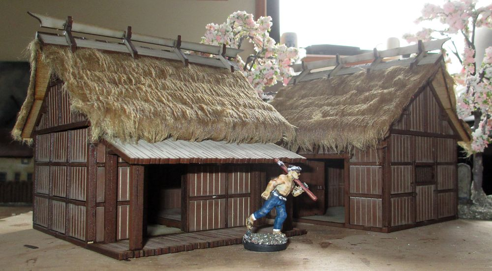 4ground S Shogunate Cottage And Barn Finished Dressing
