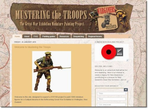 Muster the Troops capture