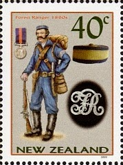 2003 Military Uniforms 40c A