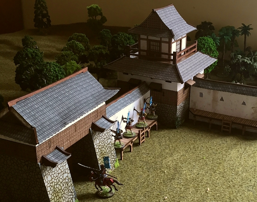 A Japanese castle complex at last – DRESSING THE LINES