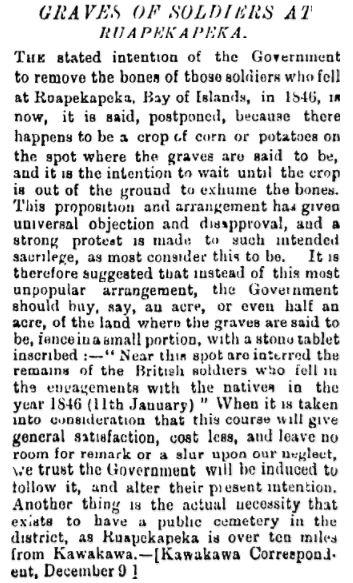 NZ Herald 14 Dec 1885