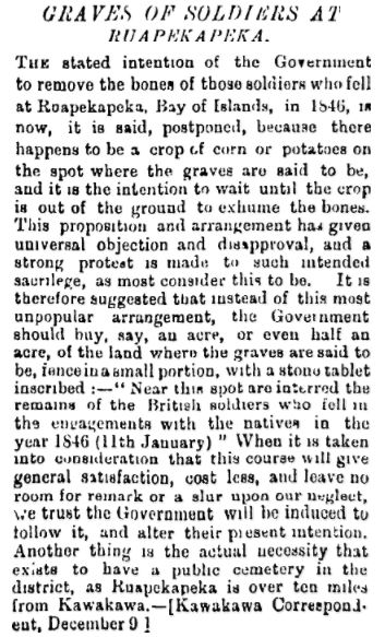 NZ Herald 14 Dec 1885