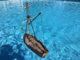 Pirate sloop