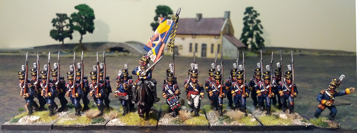 Warlord games 28mm Napoleonic Peninsular war Portuguese Line Infantry
