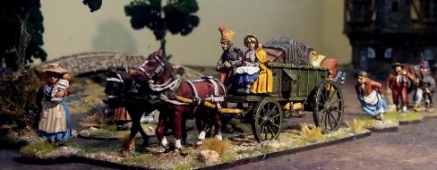 Napoleonic supply wagon