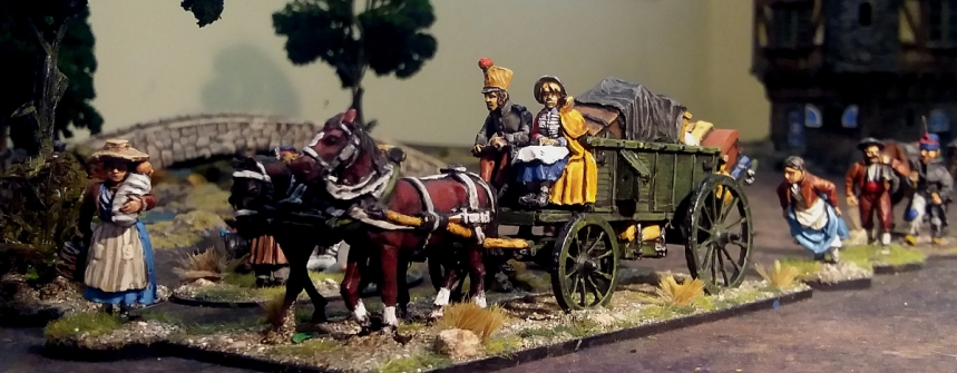 Napoleonic supply wagon
