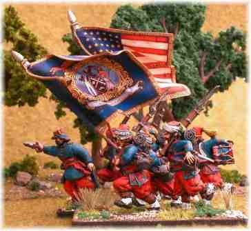 American Civil War zouaves