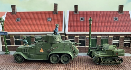 WW2 Dutch armour